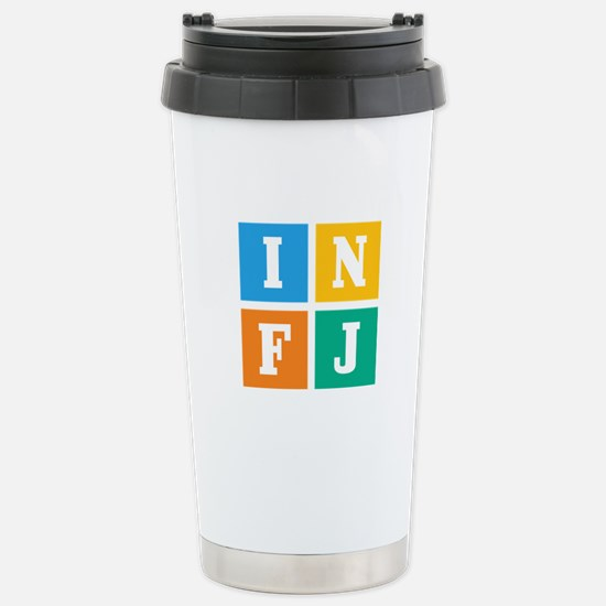 Myers-Briggs INFJ Stainless Steel Travel Mug