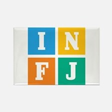 Myers-Briggs INFJ Rectangle Magnet