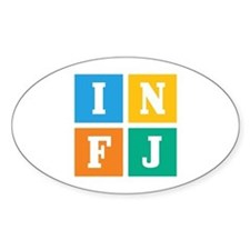 Myers-Briggs INFJ Decal