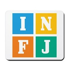 Myers-Briggs INFJ Mousepad