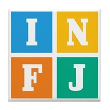 Myers-Briggs INFJ Tile Coaster