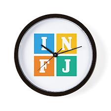 Myers-Briggs INFJ Wall Clock
