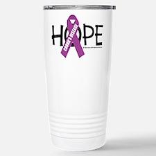 Crohn's Disease Hope Stainless Steel Travel Mug