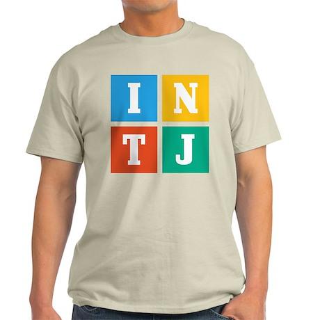 Myers-Briggs INTJ Light T-Shirt