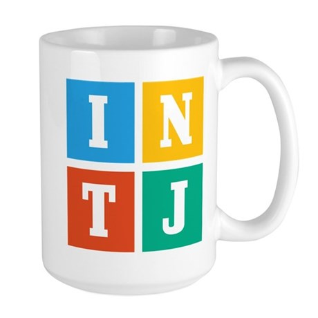 Myers-Briggs INTJ Large Mug