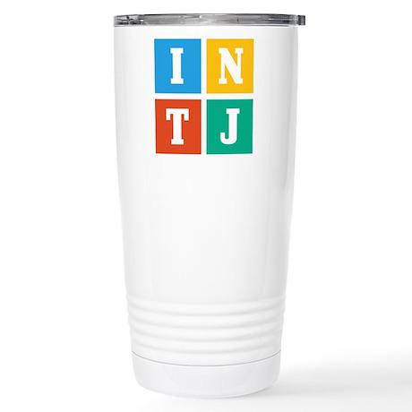 Myers-Briggs INTJ Stainless Steel Travel Mug