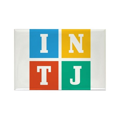 Myers-Briggs INTJ Rectangle Magnet (10 pack)