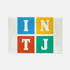 Myers-Briggs INTJ Rectangle Magnet