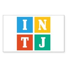 Myers-Briggs INTJ Decal