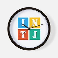 Myers-Briggs INTJ Wall Clock