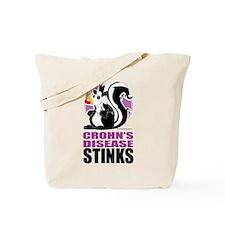 Crohn's Disease Stinks Tote Bag