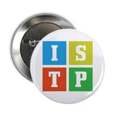 "Myers-Briggs ISTP 2.25"" Button"