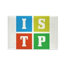 Myers-Briggs ISTP Rectangle Magnet (10 pack)