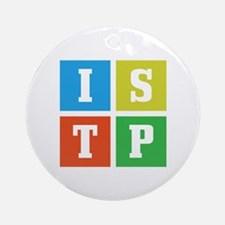 Myers-Briggs ISTP Round Ornament