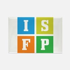 Myers-Briggs ISFP Rectangle Magnet