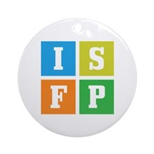 Myers-Briggs ISFP Ornament (Round)