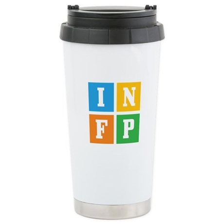Myers-Briggs INFP Stainless Steel Travel Mug
