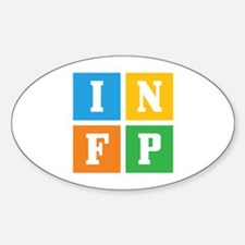 Myers-Briggs INFP Sticker (Oval)