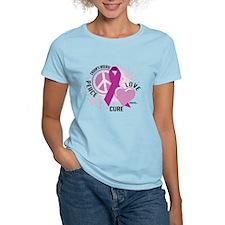 Crohn's Disease Peace Love Cu T-Shirt