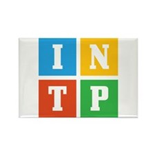 Myers-Briggs INTP Rectangle Magnet (10 pack)