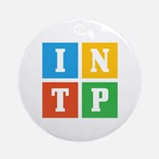 Myers-Briggs INTP Round Ornament
