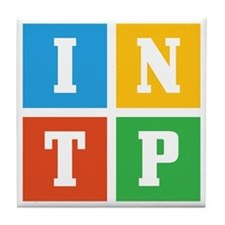 Myers-Briggs INTP Tile Coaster