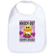 Knock Out Crohn's Disease Bib