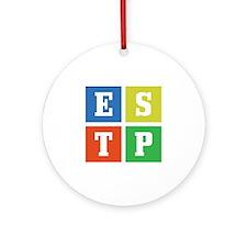 Myers-Briggs ESTP Ornament (Round)