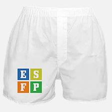 Myers-Briggs ESFP Boxer Shorts