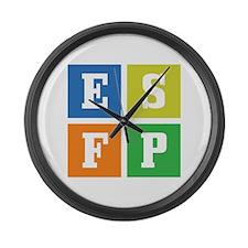 Myers-Briggs ESFP Large Wall Clock