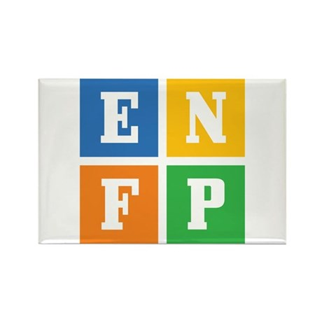 Myers-Briggs ENFP Rectangle Magnet (10 pack)