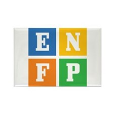 Myers-Briggs ENFP Rectangle Magnet