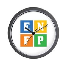 Myers-Briggs ENFP Wall Clock