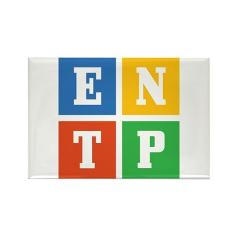 Myers-Briggs ENTP Rectangle Magnet (10 pack)
