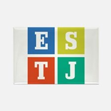 Myers-Briggs ESTJ Rectangle Magnet