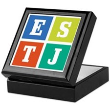 Myers-Briggs ESTJ Keepsake Box