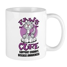 Paws For The Cure Crohn's Dis Mug
