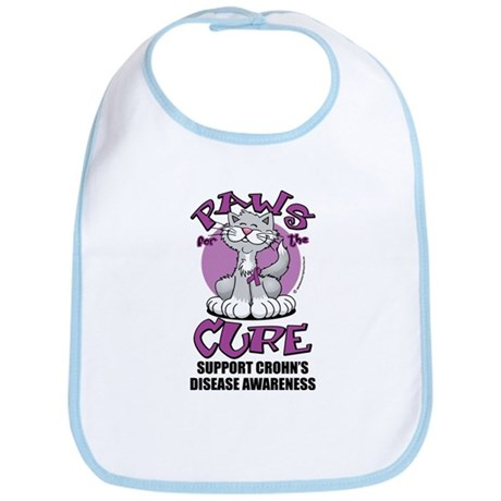 Paws For The Cure Crohn's Dis Bib