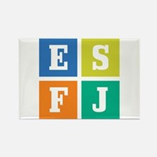 Myers-Briggs ESFJ Rectangle Magnet