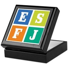 Myers-Briggs ESFJ Keepsake Box