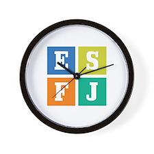 Myers-Briggs ESFJ Wall Clock