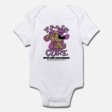 Paws For The Cure Crohn's Dis Infant Bodysuit