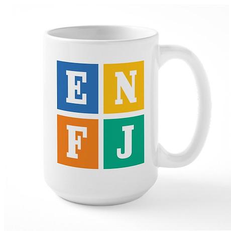 Myers-Briggs ENFJ Large Mug