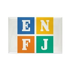 Myers-Briggs ENFJ Rectangle Magnet (10 pack)