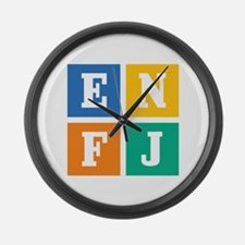 Myers-Briggs ENFJ Large Wall Clock