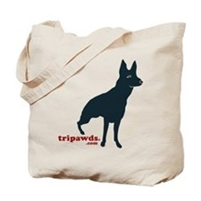 Tripawds Rear Leg GSD Tote Bag