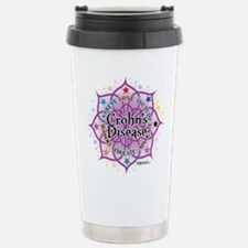 Crohn's Disease Lotus Travel Mug