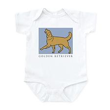 Happy Heeling Golden Infant Bodysuit