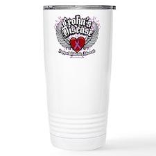 Crohn's Disease Wings Travel Coffee Mug