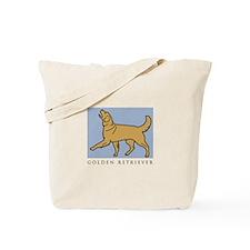 Happy Heeling Golden Tote Bag